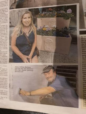 Did you see us in the newspaper?